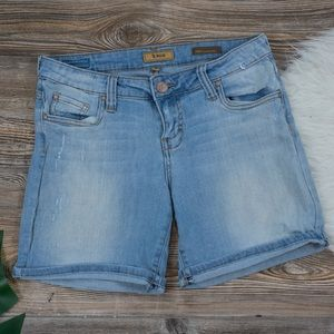 STS Blue denim bermuda shorts